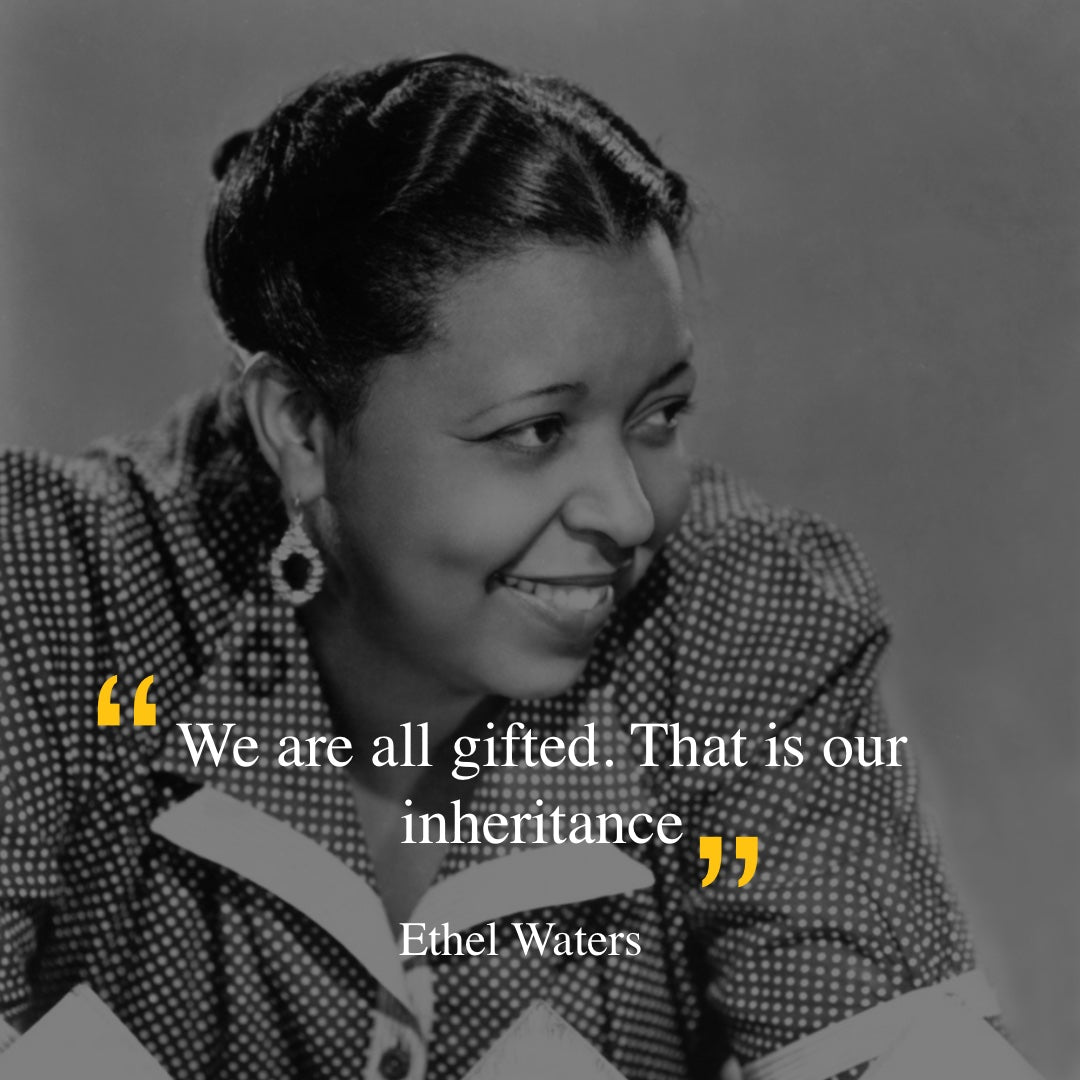 Ethel Waters quote