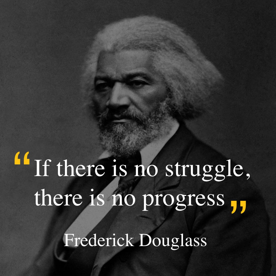 Frederick Douglass quote