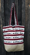 Load image into Gallery viewer, Country Bears Tote Bag or Purse Made with Recycled Coffee Burlap Sack