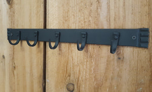 Hand Forged Five Hook Organizer