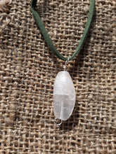 Load image into Gallery viewer, Clear Quartz Focal Point Necklace