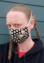 Load image into Gallery viewer, Paisley and Pink Print Reversable Homemade Cotton Fabric Facemask