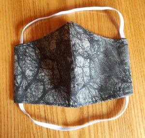 Halloween Inspired Homemade Cotton Fabric Facemask