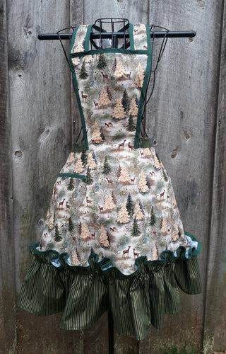 Winter Forest Wonderland Apron