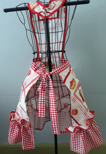 Custom Strawberry Jam Apron.