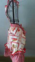 Load image into Gallery viewer, Custom Strawberry Jam Apron.