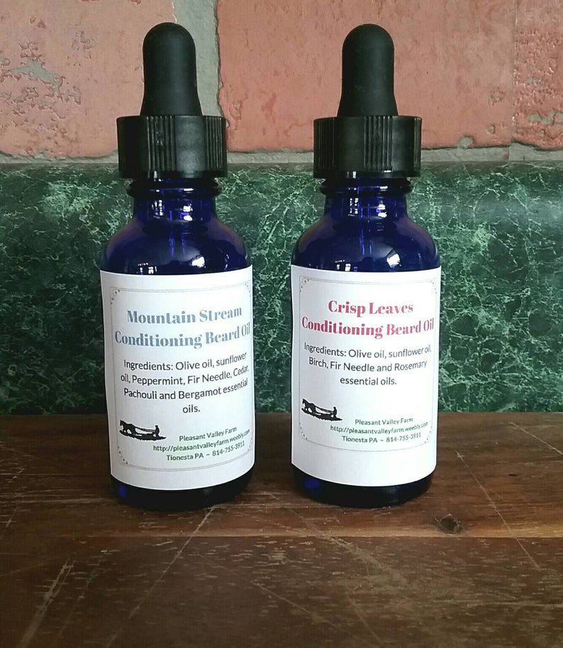 Conditioning Beard Oil- Natural Moisturizing Beard Care