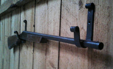 Load image into Gallery viewer, Hand Forged Gun Display Rack