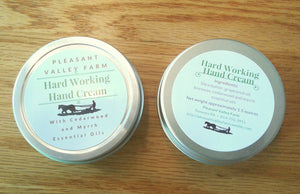 All Natural Hard Working Hand Cream