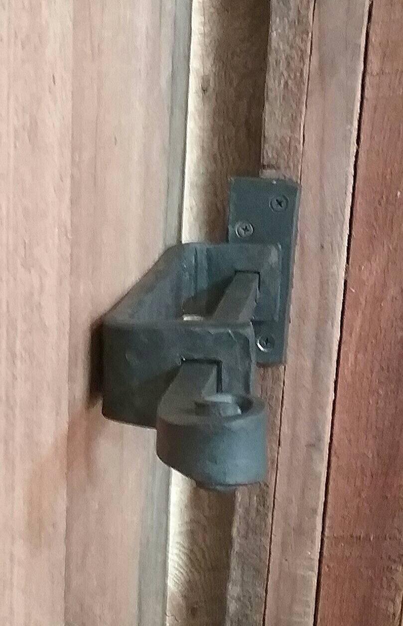 Hand Forged Deadbolt Latch