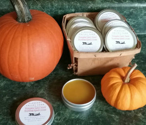 Pumpkin Spice Hard Working Hand Cream- luxurious lotion made with all natural ingredients and essential oils!