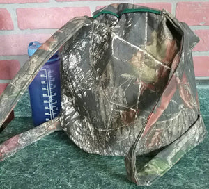 Outdoor Adventures Backpack or Every Day Carry in Breakup Camouflage. Drawstring Main Body, Padded Straps and Bonus Pocket!