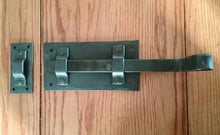 Load image into Gallery viewer, Hand Forged Strap Deadbolt Latch