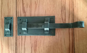 Hand Forged Strap Deadbolt Latch