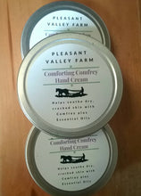 Load image into Gallery viewer, Comforting Comfrey Hard Working Hand Cream. Healing plant power for dry, cracked hands or eczema.