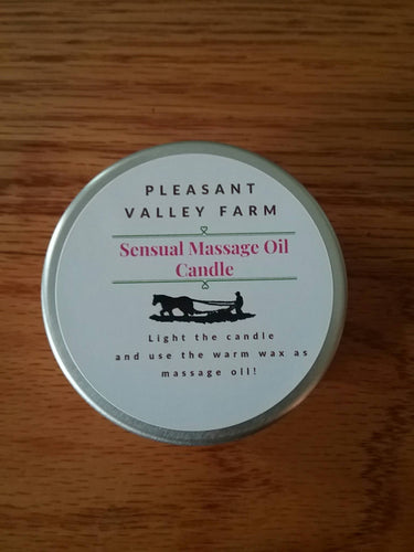 Sensual Massage Oil Candle for Romantic Couples Massage. A Variety of Scents or Create A Custom Blend