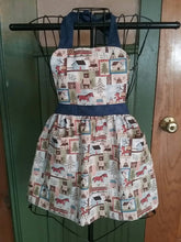 Load image into Gallery viewer, Animal Adventures Mommy & Me Apron Set.