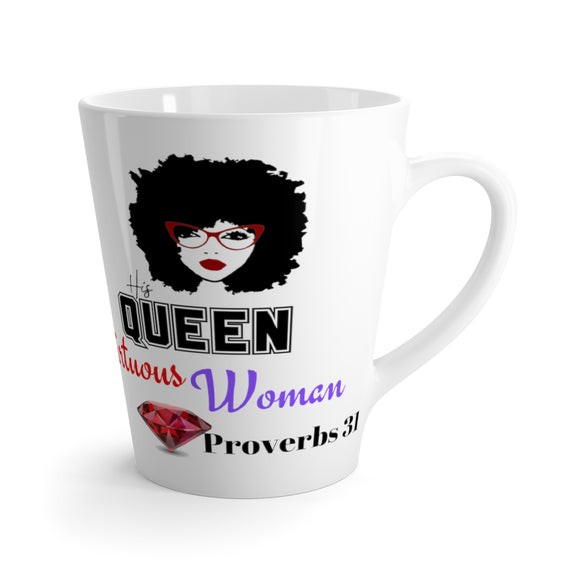 Latte mug His Queen