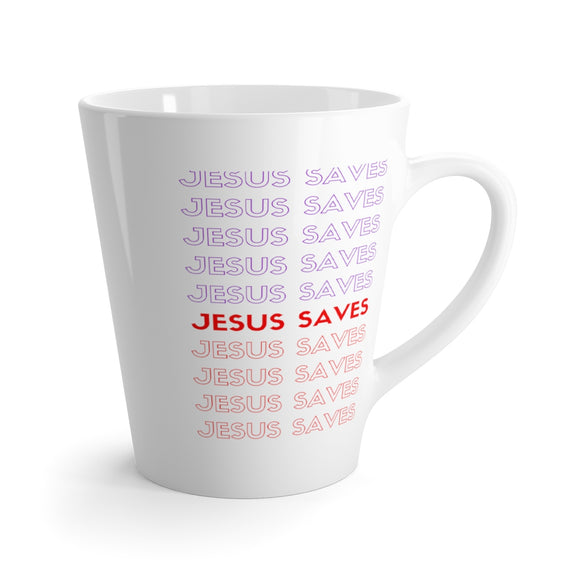 Latte mug Jesus Saves