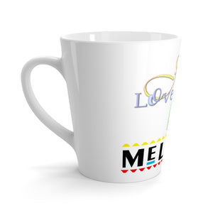 Latte mug Jesus Loves Me Melanin