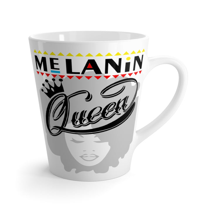 Latte mug Melanin Queen Crown