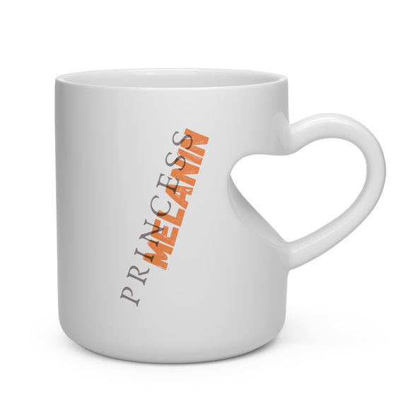 Heart Shape Mug Princess Melanin