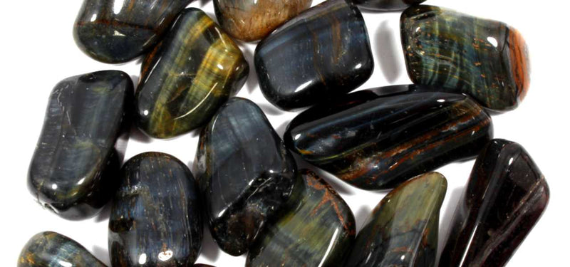 Blue Tigers Eye Healing Crystals