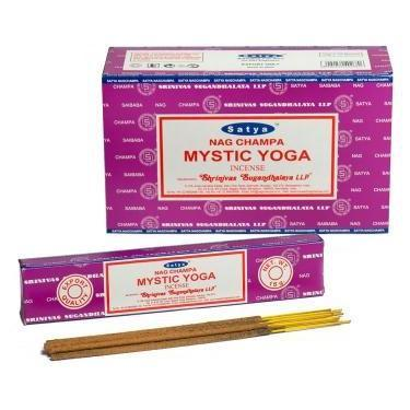 Mystic Yoga - Satya Nag Champa Incense Sticks