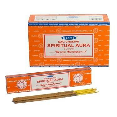 Spiritual Aura - Satya Nag Champa Incense Sticks