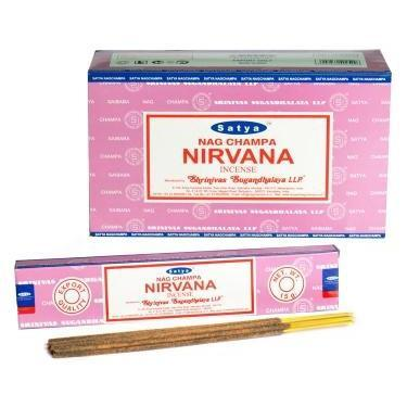 Nirvana - Satya Nag Champa Incense Sticks
