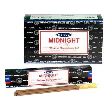 Midnight - Satya Nag Champa Incense Sticks