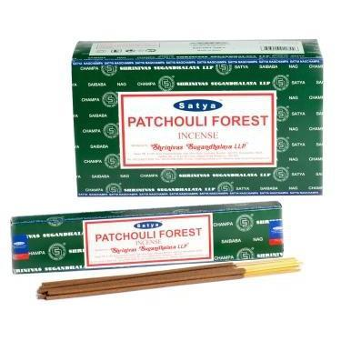 Patchouli Forest - Satya Nag Champa Incense Sticks