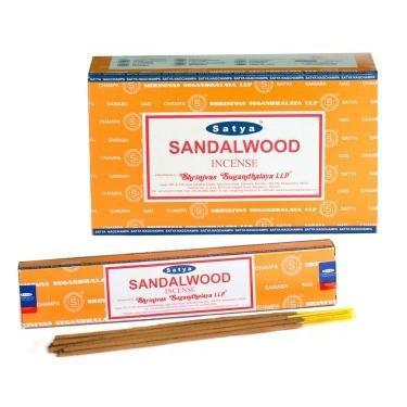 Sandalwood - Satya Nag Champa Incense Sticks