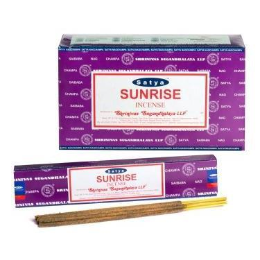Sunrise - Satya Nag Champa Incense Sticks