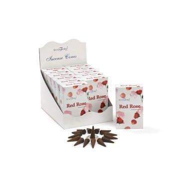 Red Rose - Stamford Incense Cones
