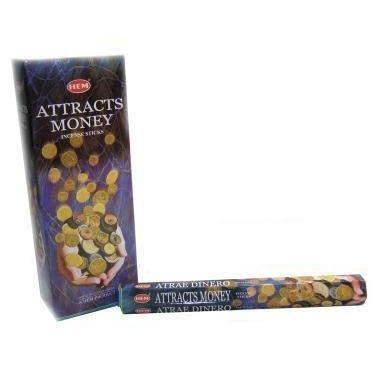 Attracts Money - Hem Incense Sticks