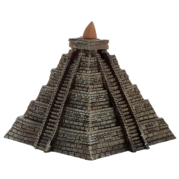 Aztec Pyramid Backflow Incense Burner