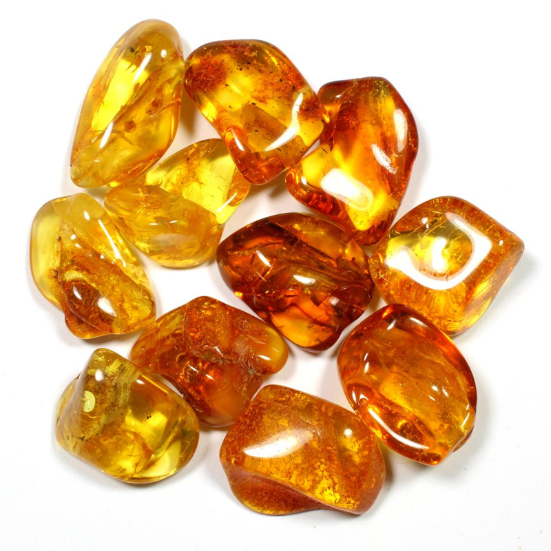 Baltic Amber Polished Crystal (High Grade)