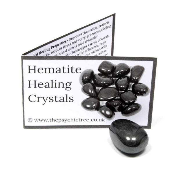 Hematite Crystal & Guide Pack