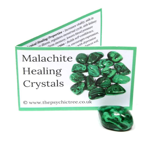 Malachite Crystal & Guide Pack