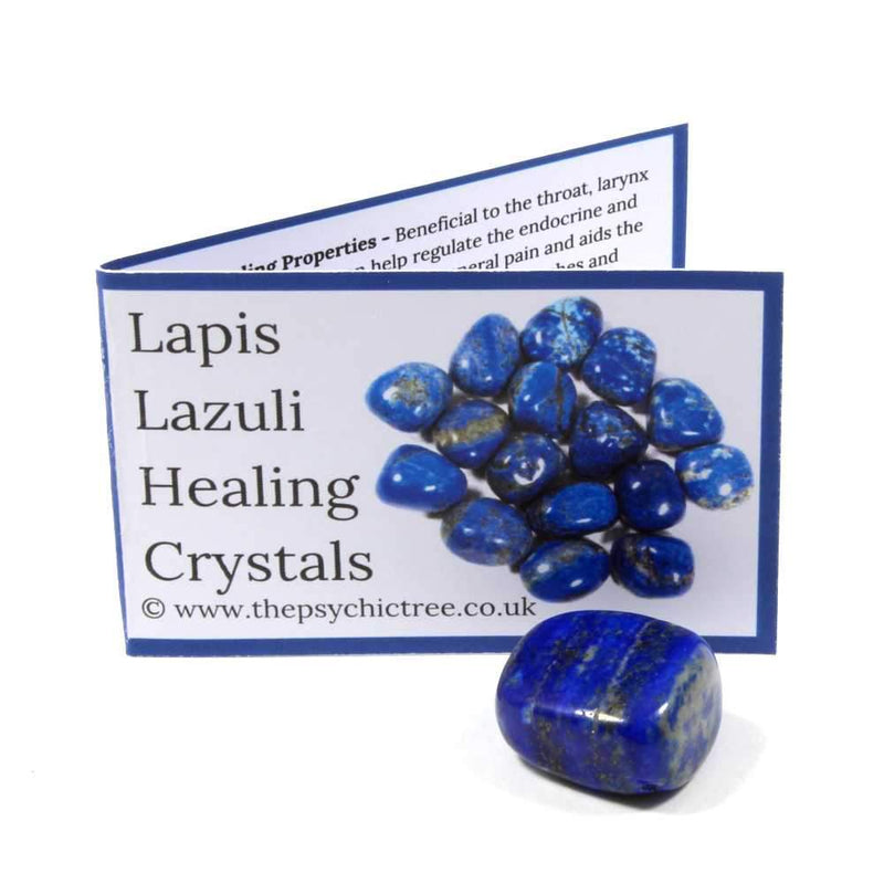 Lapis Lazuli Crystal & Guide Pack