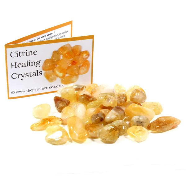 Citrine Tumblestone Value Pack