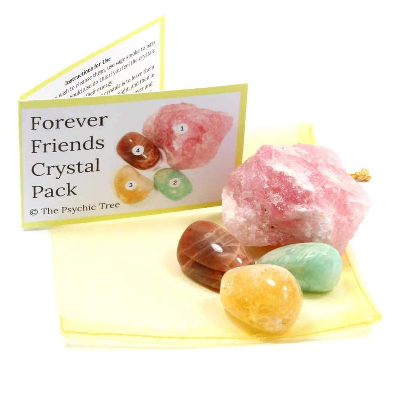 Forever Friends Healing Crystal Pack