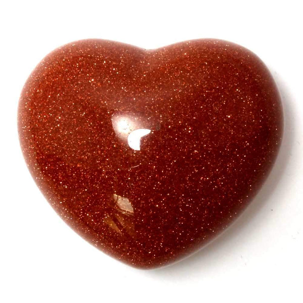 Goldstone Heart Healing Crystal