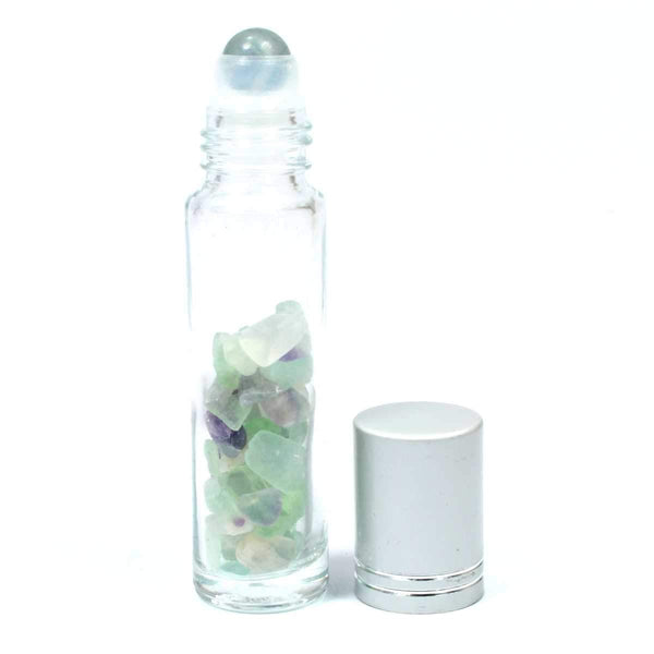 Roller Ball Essential Oil Diffuser - Fluorite