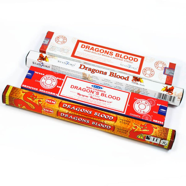 Dragons Blood Incense Stick Combo