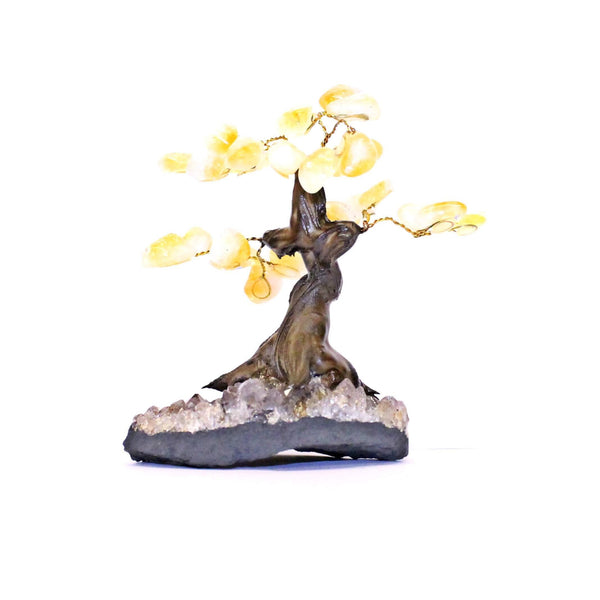 Citrine Bonsai Tree - Small