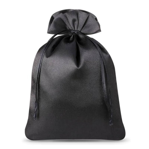 Satin Bag 15 x 20cm - Black