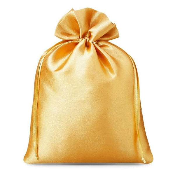 Satin Bag 15 x 20cm - Gold
