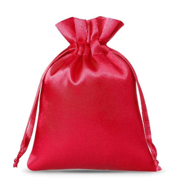 Satin Bag 8 x 10cm - Burgundy